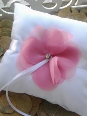 Porta Aliança amor rosa