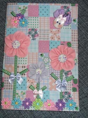 Caderno Decorado - Floral 1