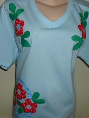 Camiseta - Flores 3