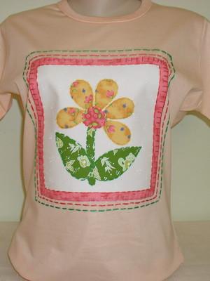 Camiseta Baby Look - Floral 2