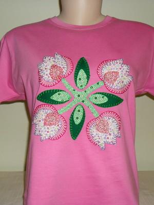 Camiseta Baby Look - Floral 3