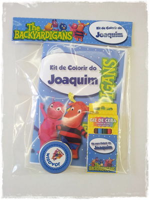 Kit De Pintar Backyardigans