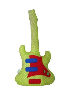 Guitarra de Tecido - Aplicação