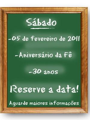 Save the date digital Lousa