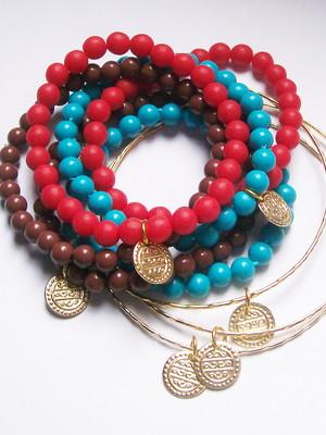 Conjunto de pulseiras Gipsy