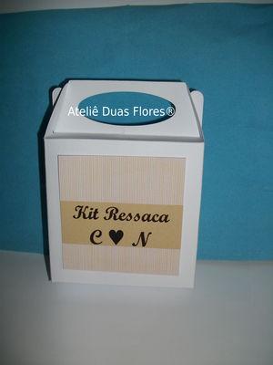 Caixinha Personalizada Kit Ressaca