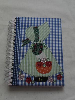 Cadernetas Decoradas- Tecido 6
