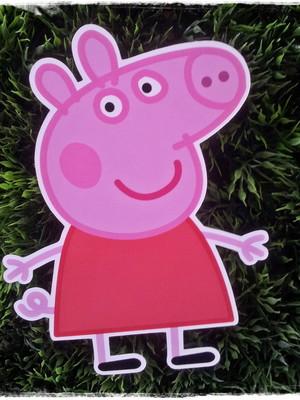 Peppa Pig aplique 12 cms