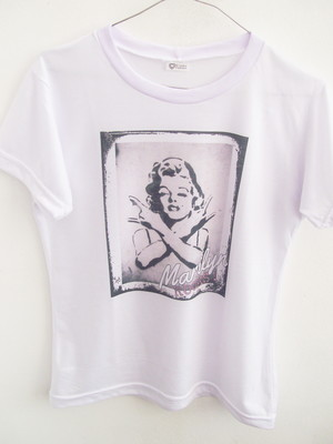T-shirt Marilyn Rocks