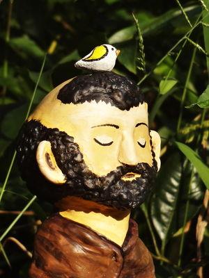Escultura São Francisco e os pássaros