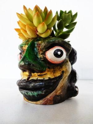 Mini Cachepô - Olhos