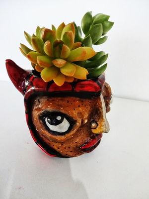 Mini Cachepô - Diabinha