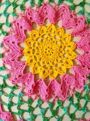 Toalha de mesa Inspiração com flores