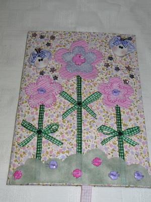 Caderno Decorado - Floral 2