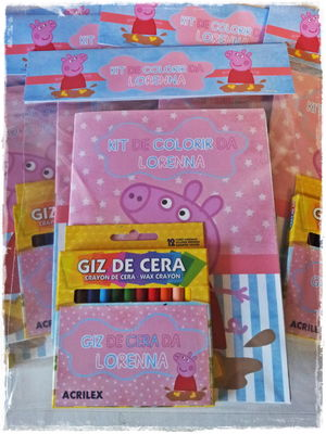 Kit de pintar Peppa Pig