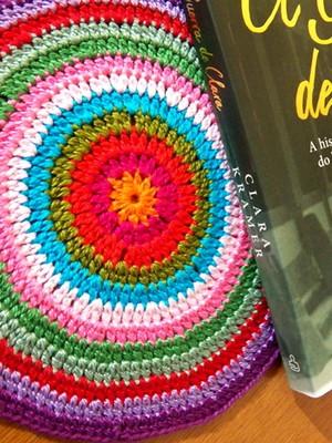 Toalhinhas Multi coloridas em crochet
