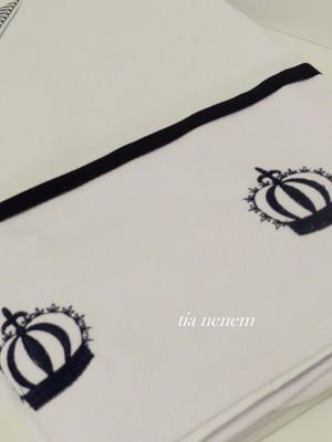 Jogo de lençol Coroa Imperial