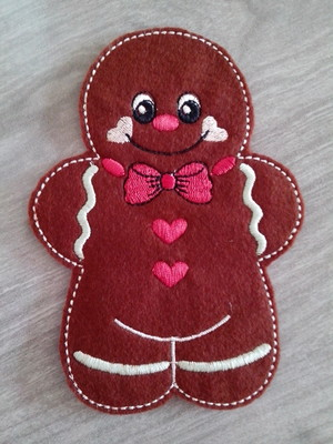 Ginger Chocolate - Enfeite de Natal