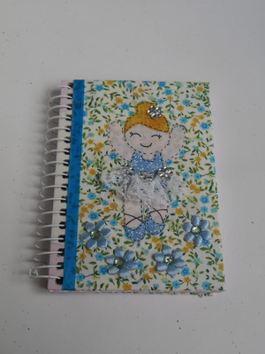 Caderneta decorada : Bailarina