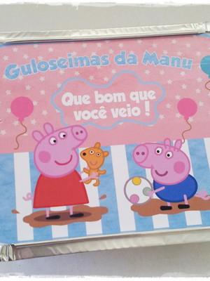Marmitinha Peppa Pig