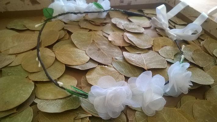 Grinalda Guirlanda flores casamento