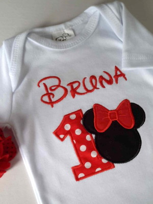 Body Minnie Personalizado