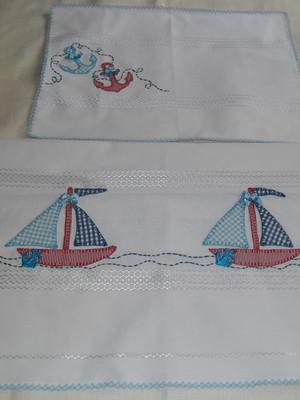 Kit berço Nautico- 2 peças