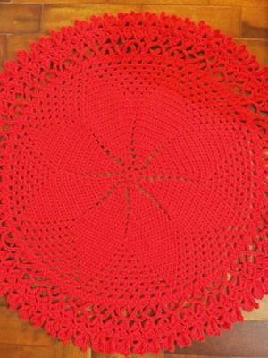Tapete Catavento em crochet