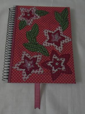 Caderno decorado -Floral 3