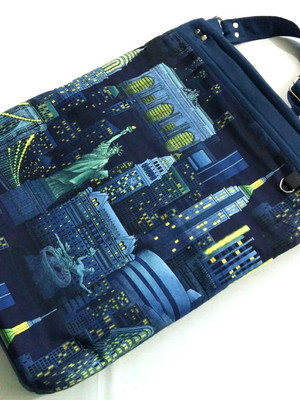 TOTE BAG NEW YORK NIGHT- ENCOMENDE