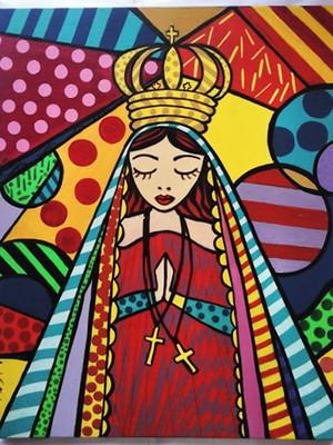 Tela Nossa Senhora * Pop Art