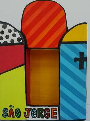 Altar São Jorge Pop