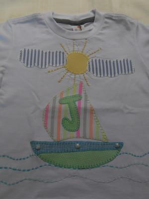 Camiseta Infantil - Barquinho2