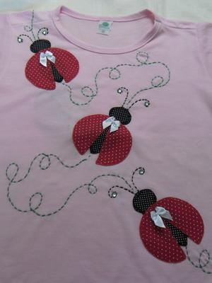 Camiseta Infantil - Joaninhas em fuga 2