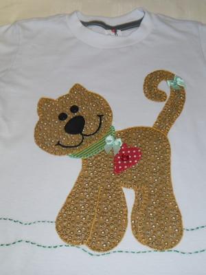 Camiseta Infantil - Gatinho