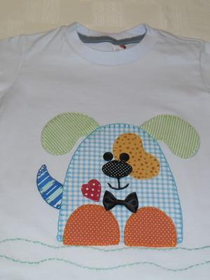 Camiseta Infantil - Cãozinho