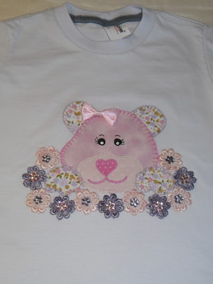 Camiseta Infantil - Ursinha 2