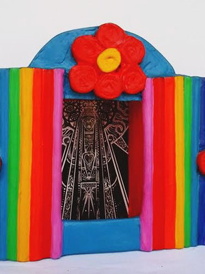 Oratório Nossa Senhora Pop Art