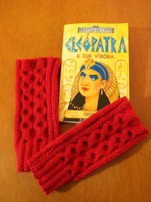 Luvas sem dedos em tricot