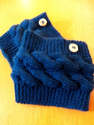 Boots Cuffs\Mini polaina em tricot