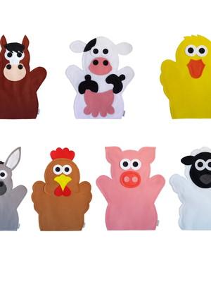 Fantoche Animais da Fazenda / Fazendinha