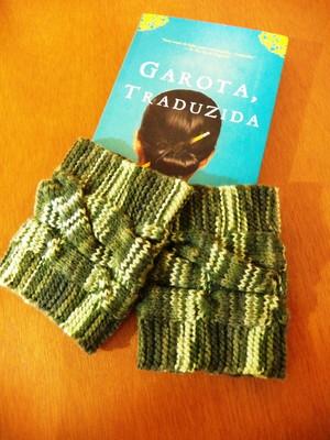 Polainas\Boots cuffs verdes