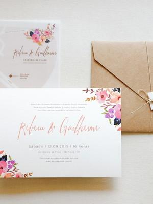 Convite G - Rebeca e Guilherme