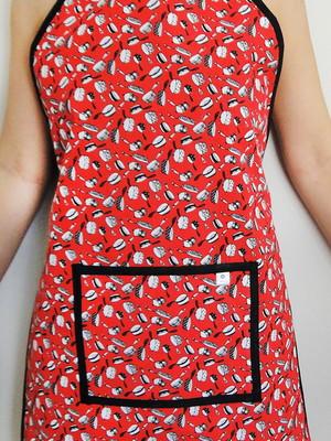 Avental acolchoado com bolso * escolher tecidos *