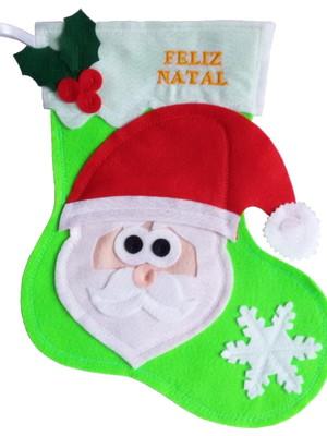 Bota / Meia Personalizada - Papai Noel
