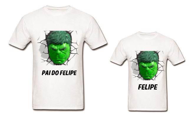 Tal Pai Tal Filho - Dupla de Camisetas#2