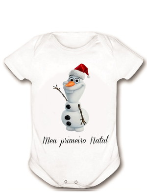 Body Olaf Meu Primeiro Natal