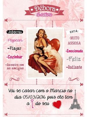 Poster da noiva