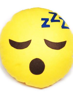 Almofada porta pijama | emoji dormindo *
