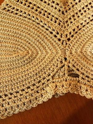 Cropped Orion em crochet